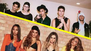 ¿Te gustó el video del remix de 'Reggaetón lento' de CNCO y Little Mix!