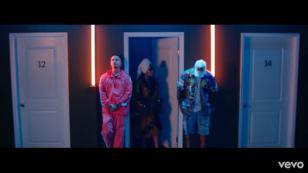 Con ustedes, el video oficial del remix de 'Mi cama', con Karol G, J Balvin y Nicky Jam