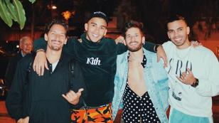 Confunden a Mau & Ricky con Manuel y Julián Turizo