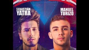 Conoce las fechas oficiales para los conciertos de Manuel Turizo y Sebastián Yatra