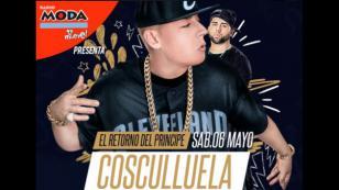 ¡Cosculluela regresa a Lima junto a DJ Luian!