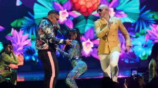 """Daddy Yankee le dice """"atrevida"""" a Natti Natasha tras ver su coreografía de 'Que tire pa' lante'"""