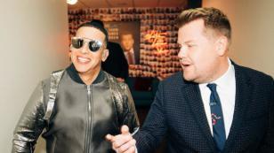 Daddy Yankee llegó 'Con calma' al programa de James Corden