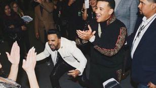 Daddy Yankee y Luis Fonsi bailaron al ritmo de 'Despacito' en los Grammy