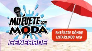 Disfruta del verano y llévate grandes premios con Generade y Moda te mueve