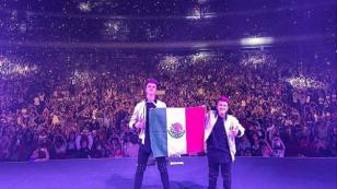 Dúo Adexe & Nau la rompió en sus presentaciones en México [FOTOS]