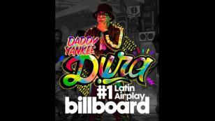 'Dura', de Daddy Yankee, es el número 1 en la lista Latin Airplay de Billboard