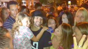 El amor de Venezuela e Italia por Nacho Mendoza en un solo video