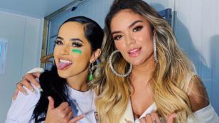 Encuentro entre Karol G y Becky G aviva rumores de colaboración