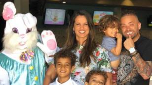 Esposa de Nacho muestra cómo es la educación de sus hijos