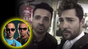 Esto pasa cuando Luis Fonsi y David Bisbal intentan imitar a Wisin y Yandel [VIDEO]