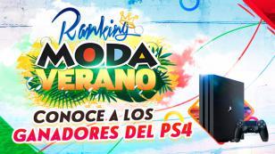 Estos son los ganadores de los PlayStation 4 del Ranking Moda Verano