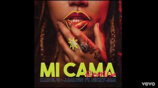 ¡Éxito mundial! Karol G estrenó el remix de 'Mi cama' junto a Nicky Jam y J Balvin