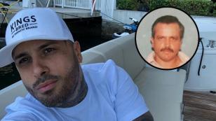 Fanáticos de Nicky Jam confunden a su padre con Pablo Escobar