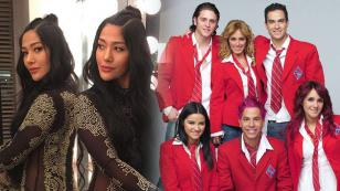Farina habló por primera vez sobre su participación en la serie mexicana 'Rebelde'