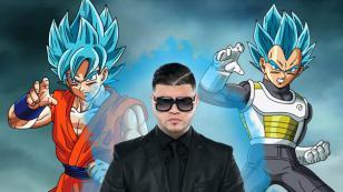 Farruko se convirtió en Supersaiyajin Azul para comenzar con fuerza este 2017