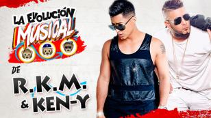 ¡Gánate con la evolución musical de RKM y Ken-Y! [VIDEO]