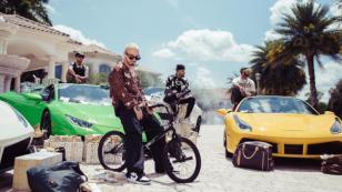 J Balvin, Anuel AA, Nicky Jam y Arcángel graban nuevo video en lujosa mansión