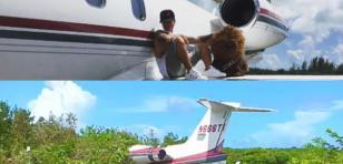 ¡Avión de J Balvin se estrelló en las Bahamas!