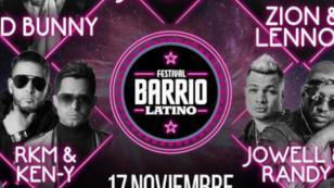J Balvin, Bad Bunny, Zion & Lennox y más, confirmados para la nueva edición de Barrio Latino