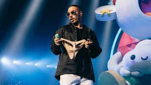 J Balvin estrenó 'Ritmo' junto a los Black Eyed Peas