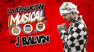 ¡Conoce la evolución musical de J Balvin! [VIDEO]