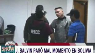J Balvin vivió momentos de tensión durante su llegada a Bolivia