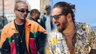 J Balvin felicitó a Maluma por el lanzamiento de su disco 'F.A.M.E'