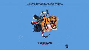 J Balvin, Ozuna y Bad Bunny, juntos en el remix de 'Gucci Gang' [VIDEO]