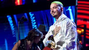 J Balvin pidió respeto para el reggaetón en los Latin Grammy