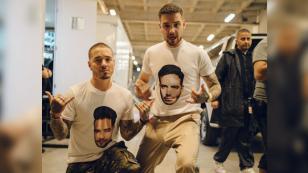 J Balvin y Liam Payne presentaron en vivo 'Familiar' en los premios MTV Miaw