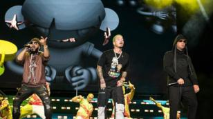 J Balvin y Wisin & Yandel cantaron clásicos temas de reggaetón en el Lollapalooza