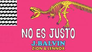 J Balvin lanzó 'No es justo' junto a Zion & Lennox