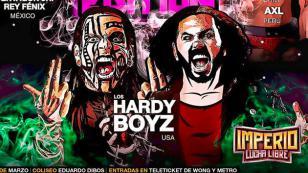Jeff Hardy y Matt Hardy le dirán adiós a su etapa fuera de WWE en Perú