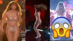 Jennifer Lopez sorprendió al público del 'One Voice: Somos Live!' con twerking [VIDEO]