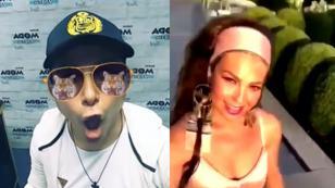 Jojojonathan ya hizo el #ThalíaChallenge, ¿y tú? [VIDEO]