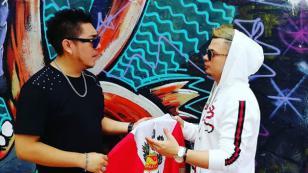 Jowell estuvo en Lima para grabar videoclip junto a Kalé