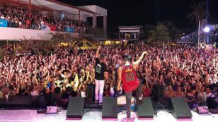Jowell & Randy rompió récord de asistencia en el Vivo Beach Club [VIDEO]