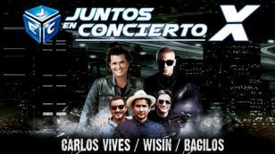 Wisin en Lima para la décima edición de 'Juntos en concierto'
