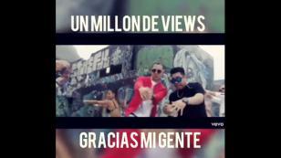 Kalé celebró el millón de reproducciones de 'Piden reggaetón' [VIDEO]