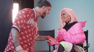 Karol G dedica romántico mensaje a Anuel AA antes de cantar juntos en los Latin Billboard