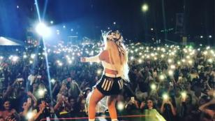 Karol G remeció Ecuador al ritmo de 'Mi cama' [VIDEO]