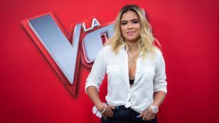 Karol G se conmueve hasta las lágrimas en 'La Voz' España