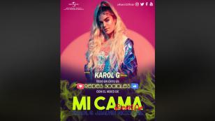 Karol G, todo un éxito con el remix de 'Mi cama' en las redes sociales