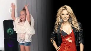 La mini-Shakira que dejó encantada a la propia cantante colombiana [VIDEO]