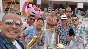 La orquesta Zaperoko tocará en vivo en la feria gastronómica