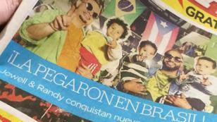 La reacción del dúo Jowell & Randy luego de salir en la portada de periódico puertorriqueño