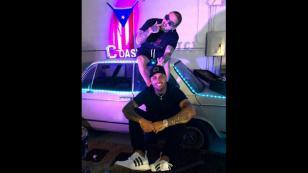 ¡La 'X' de Nicky Jam y J Balvin ya se luce en avión personalizado!