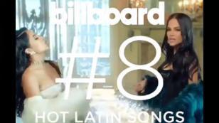 Las increíbles cifras que alcanzó la canción que reunió a Natti Natasha y Becky G [VIDEO]