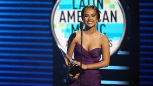 Latin American Music Awards: Becky G se enteró que ganó mientras estaba en el backstage